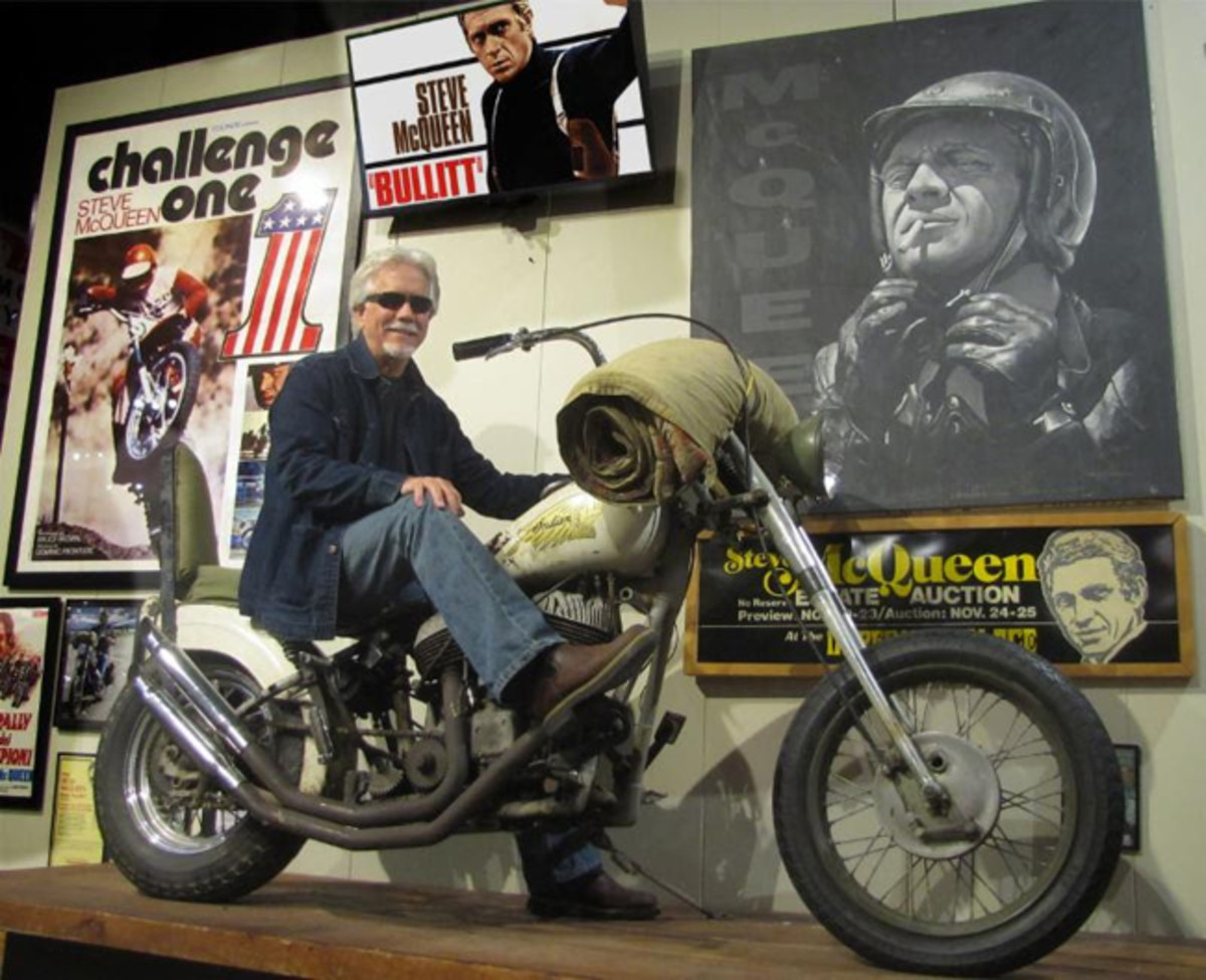 Part of the Museum's collection, Steve McQueen's personal Indian Chief Chopper has not run for a few years. American Pickers' David Ohrt will kick start McQueen's escape machine to life for Vintage Rally visitors.
