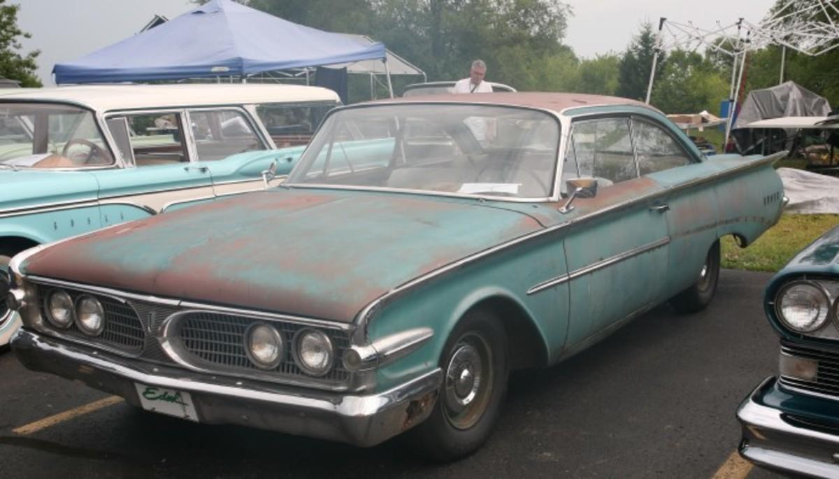 1960 Edsel two-door hardtop.