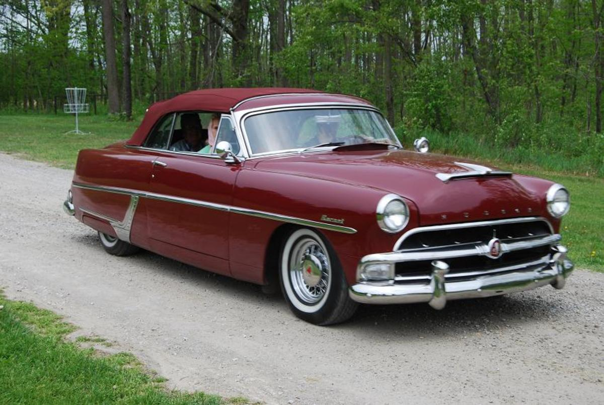 This Hudson collecting family wasn't afraid to take to the road in their Hornet convertible.