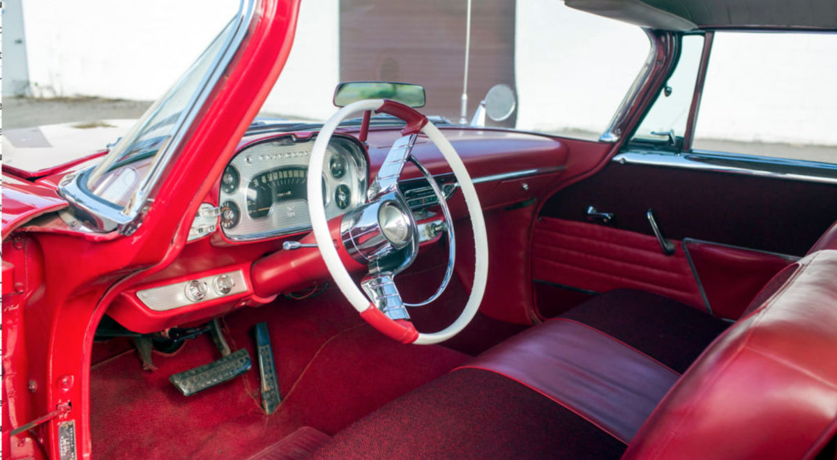 "The interior of ""Christine"" was the site of her first victim."