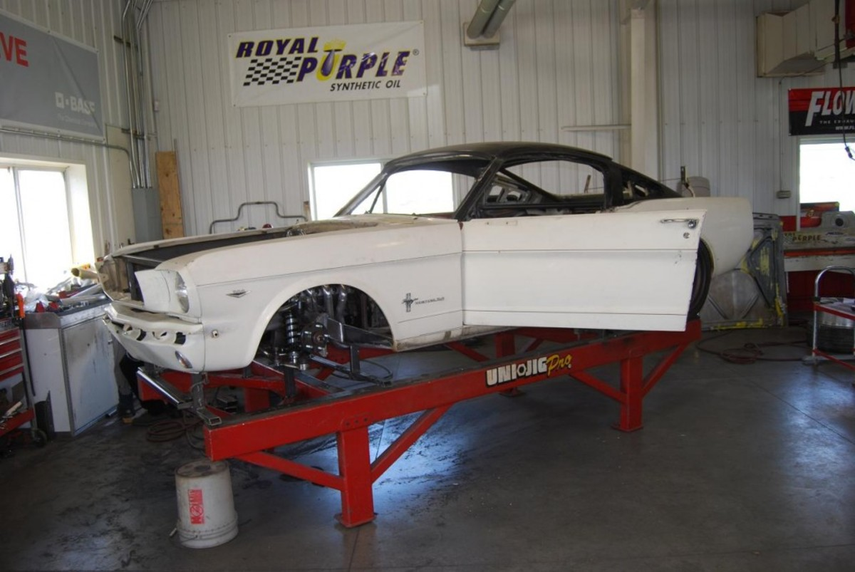 This Ringbrothers Mustang was constructed for SEMA.