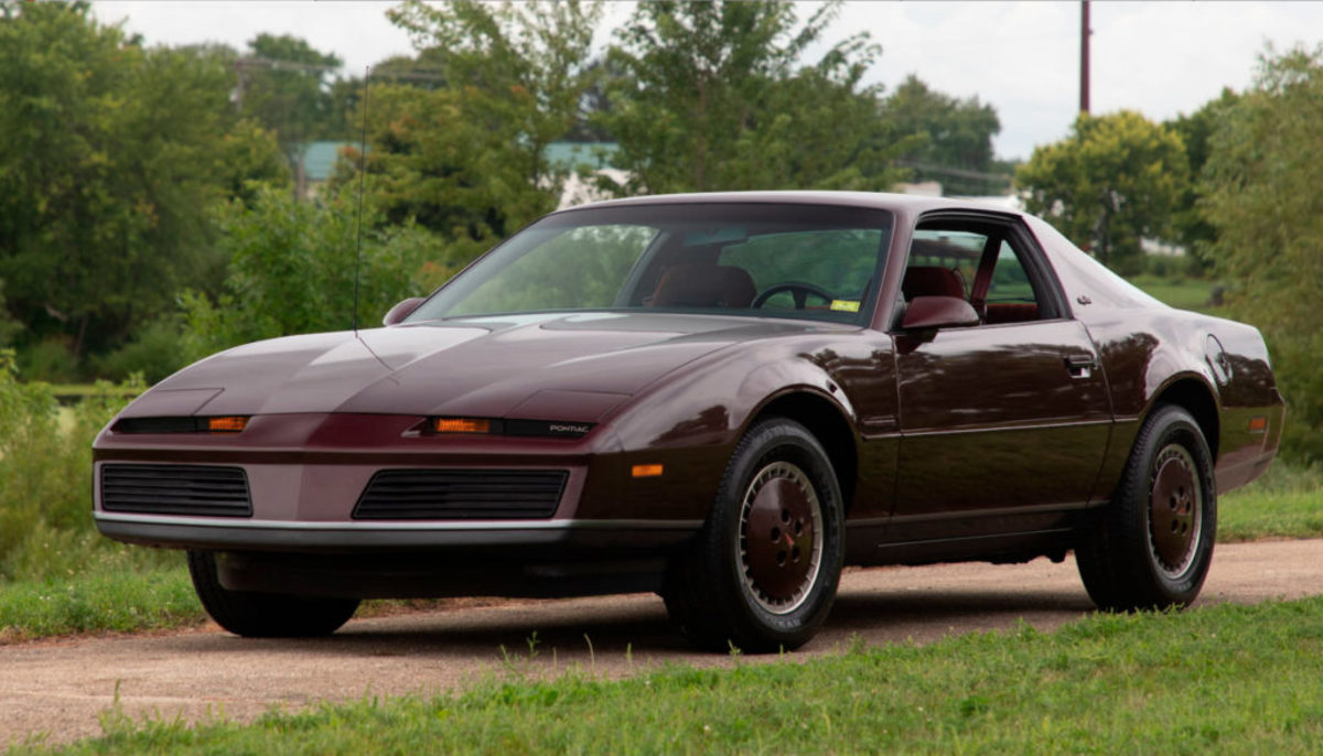 1982 Pontiac Firebird SE with 509 miles. Mecum Auctions photo