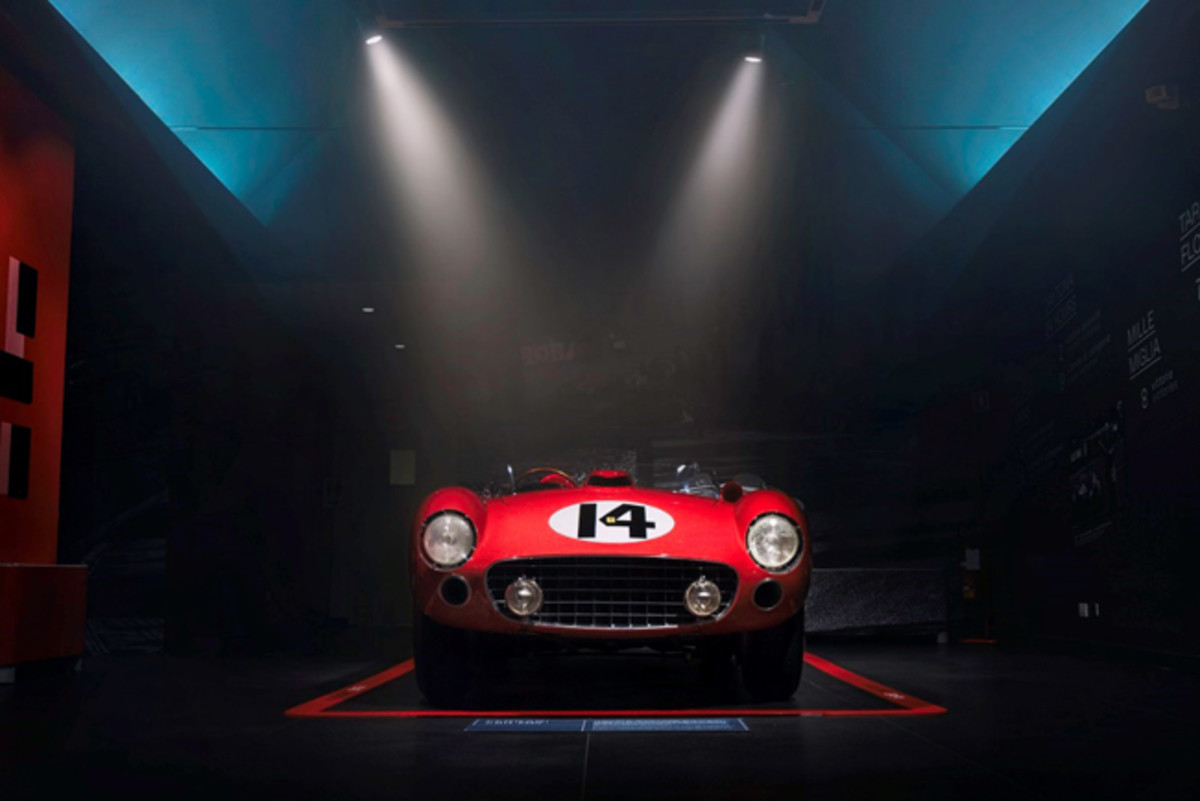 The Classiche restored and certified Ferrari 290 MM set to headline RM Sotheby's sale at the Petersen Automotive Museum (Diana Varga © 2018 Courtesy of RM Sotheby's)