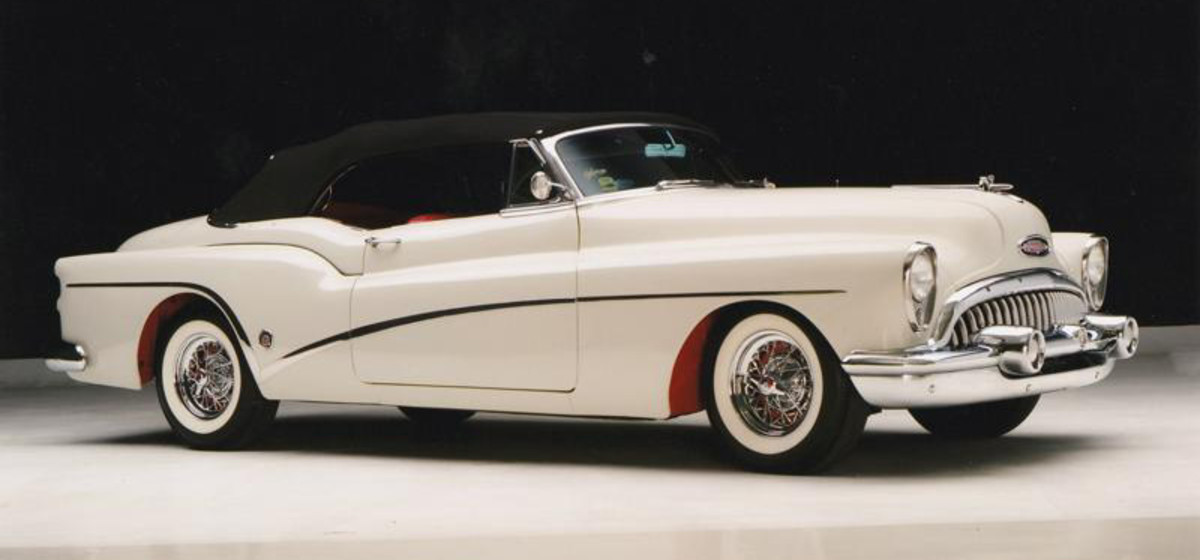 1953 Buick Skylark Convertible for sale at Smith's Summer Classic Car Auction July 13-14 at the Show Me Center, Cape Girardeau, MO.