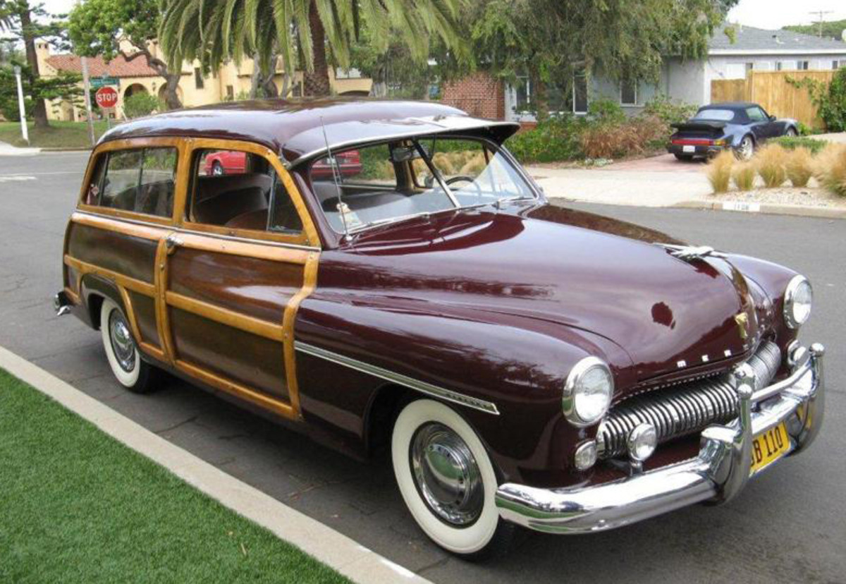 1949 Mercury Woody Wagon for sale at Smith's Summer Classic Car Auction July 13-14 at the Show Me Center, Cape Girardeau, MO.
