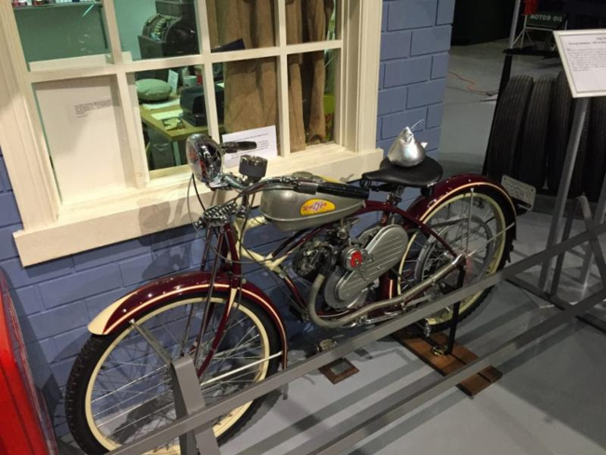Vintage vehicles are ever present at the AACA Museum
