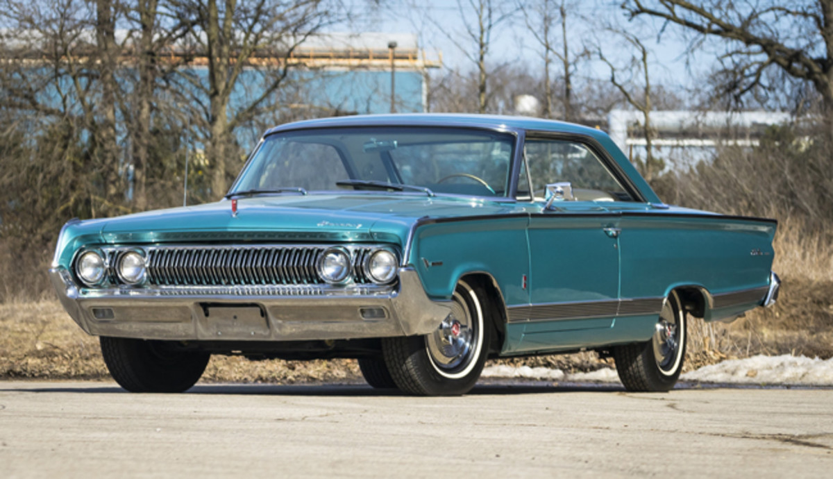 1964 Mercury Super Maurader, R-Code 427/425 HP, 1 of 3 Known to Exist - photo Mecum
