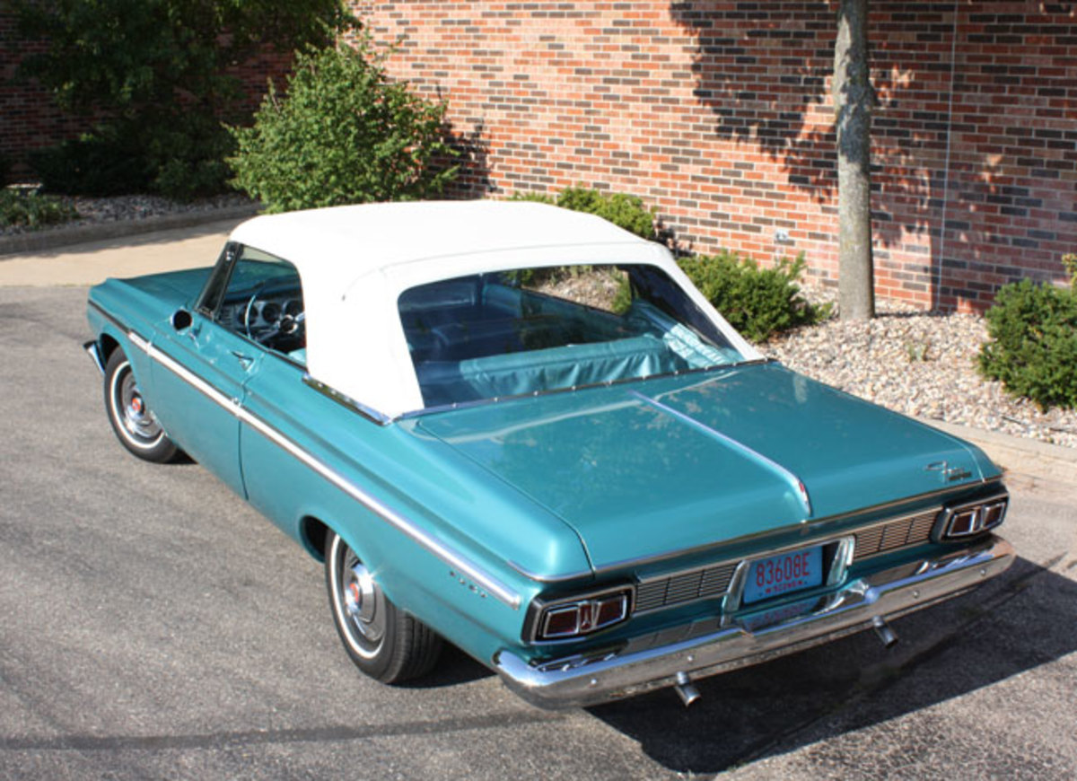 Car Of The Week 1964 Plymouth Fury Convertible Old Cars Weekly