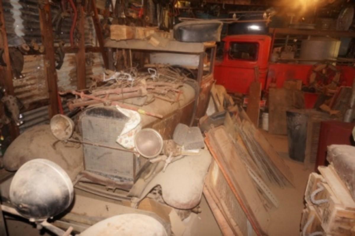 Morris Model A trucks