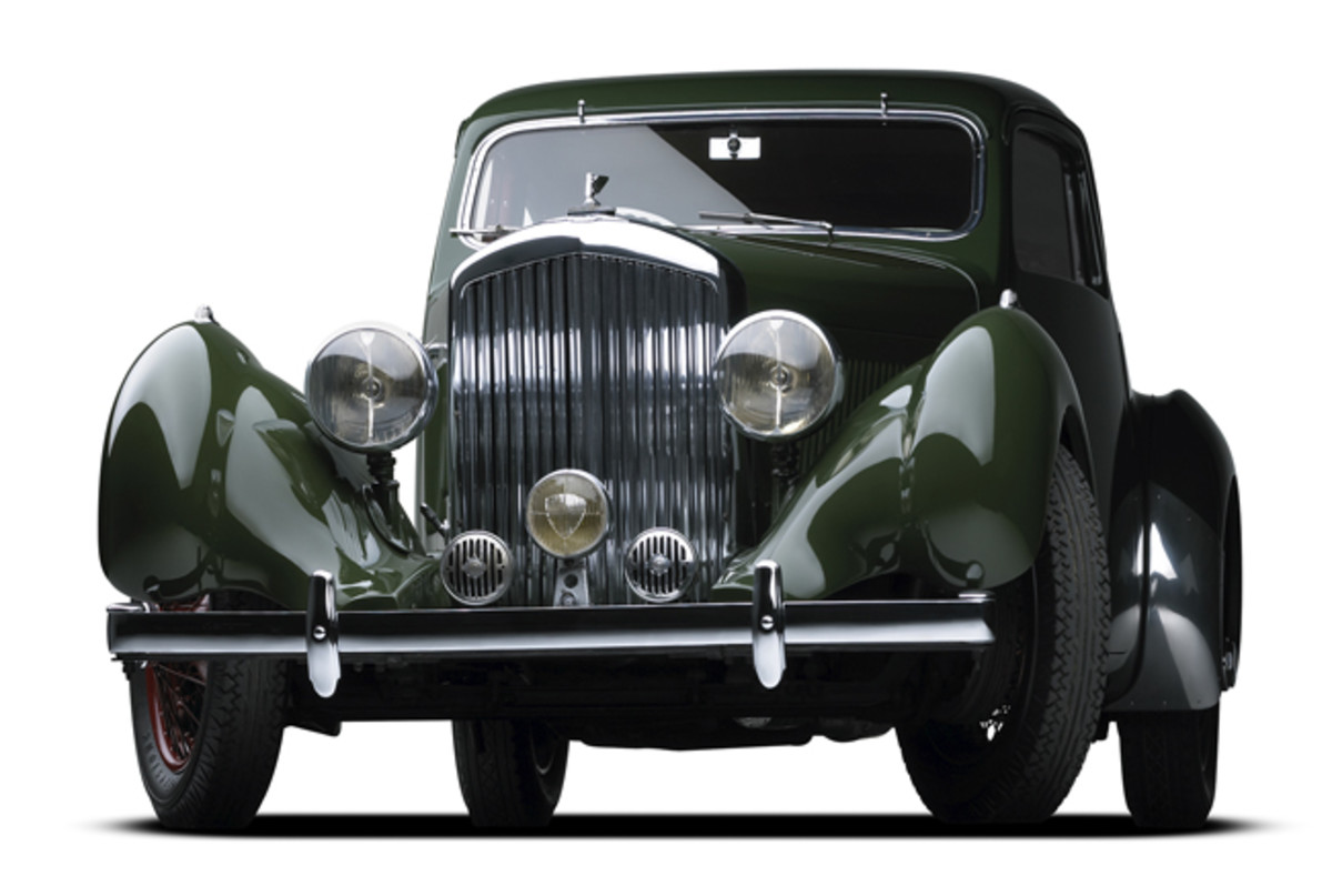 This 1938 Bentley will be among the signature entries of the third annual Philadelphia Concours d'Elegance on June 15, 2019.