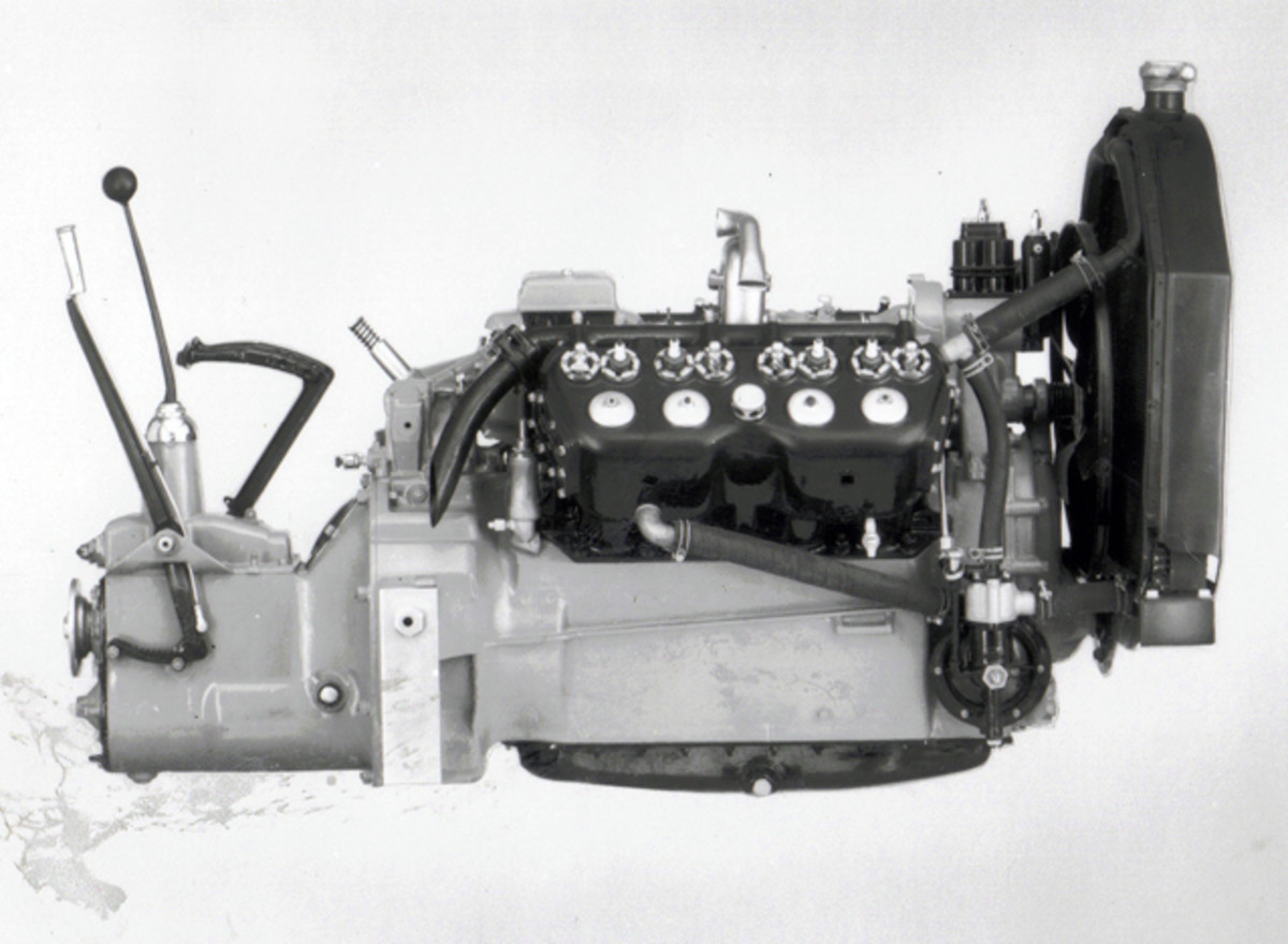 The iconic compact Cadillac OHV V-8 of 1949.
