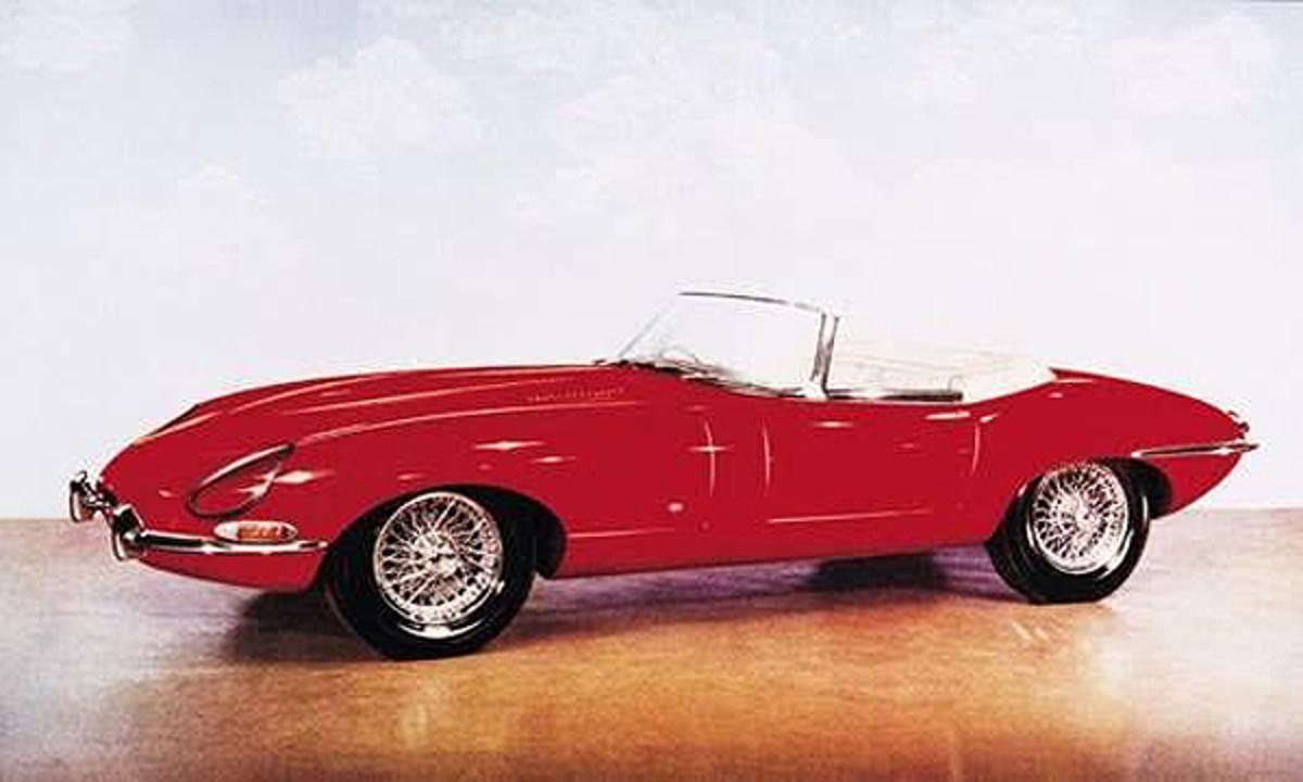 Jaguar XKE Prototype