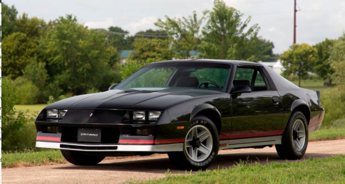 1982 Camaro Z28 with 45 miles. Photo - Mecum