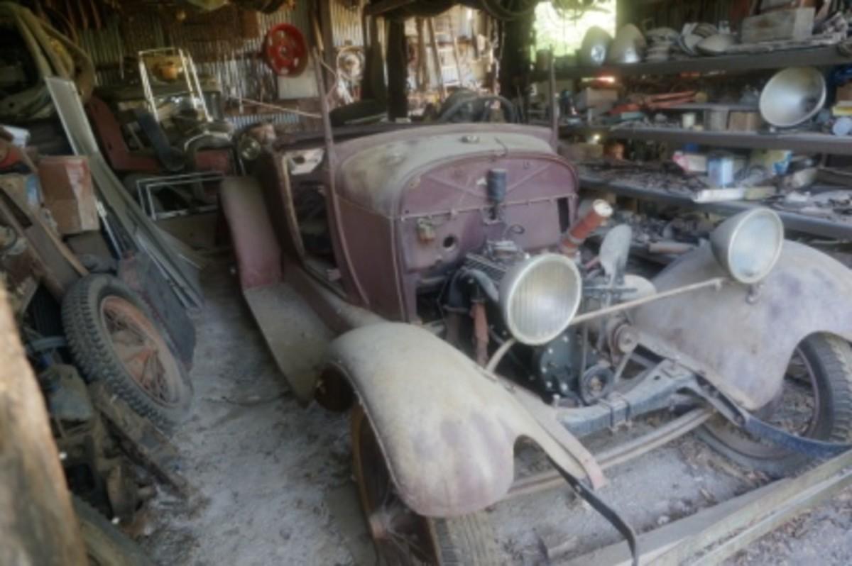 Morris Model A roadster