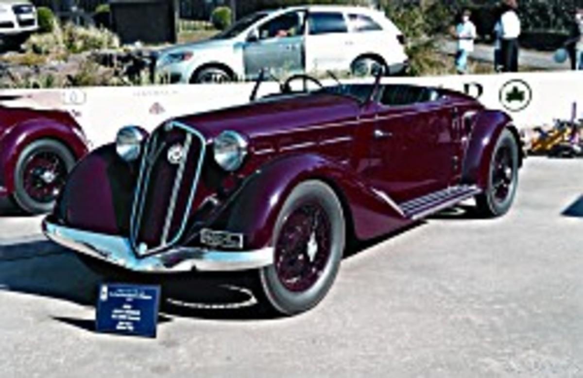 1935 Alfa Romeo 6C 2300 Pescara roadster