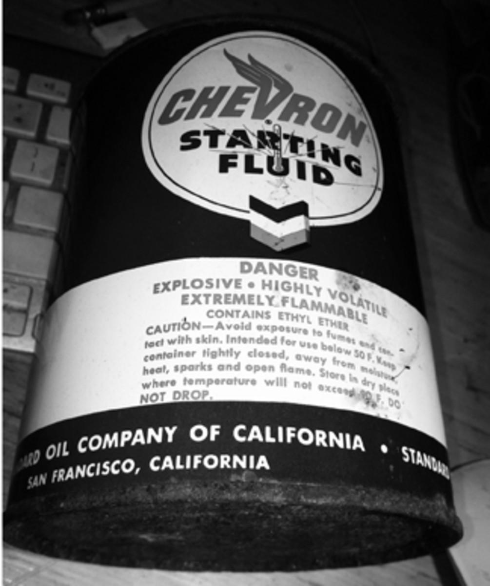 Chevron Starting Fluid