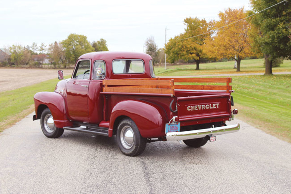 Car Of The Week 1950 Chevy 3100 Pickup Old Cars Weekly