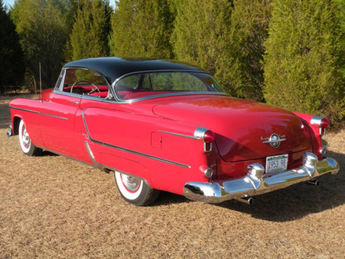 1953 Olds Ninety-Eight Holiday Hardtop