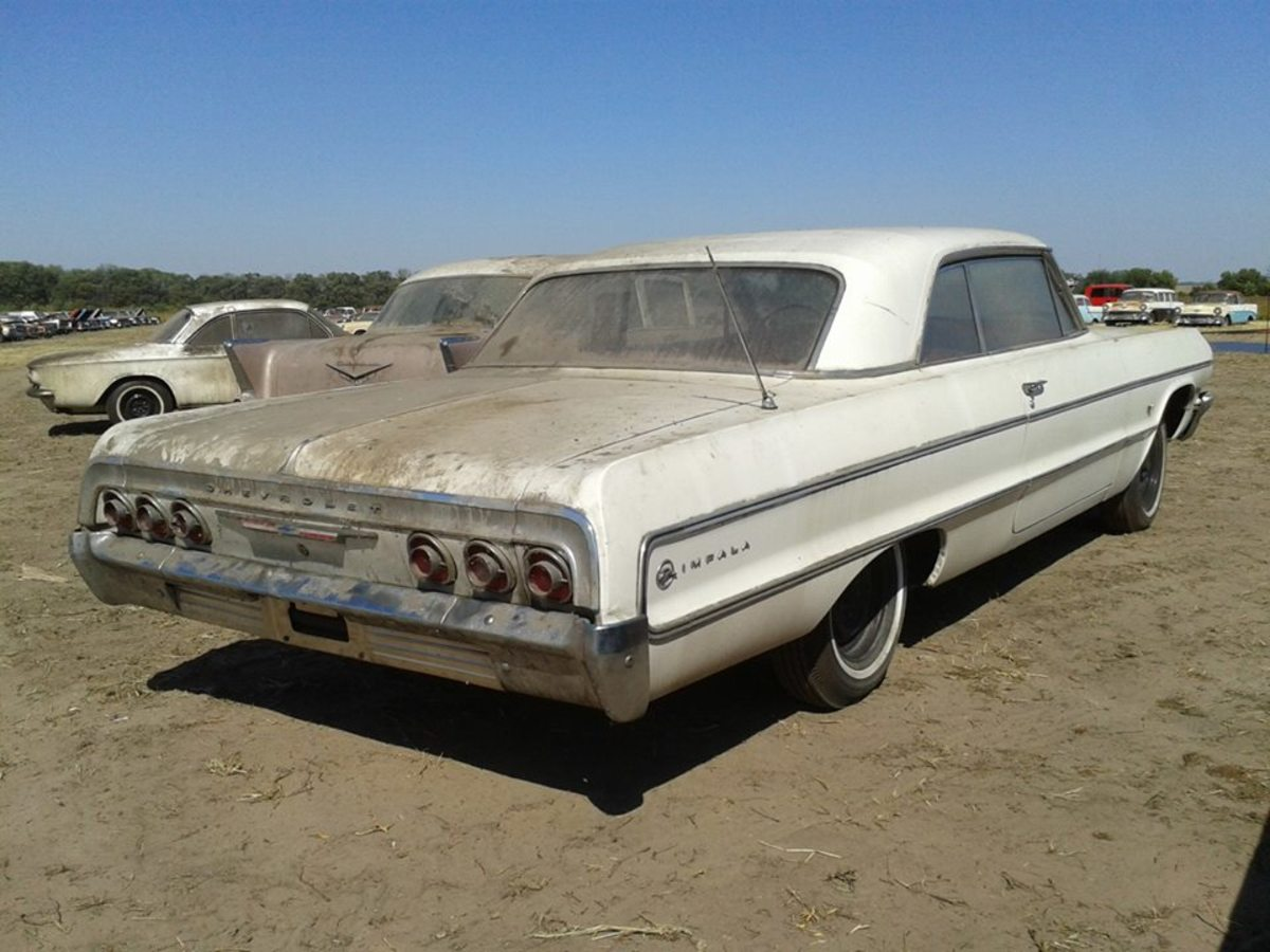 This 1964 Impala with 4 miles sold by VanDerBrink Auctions at the Lambrecht went for $75,000.