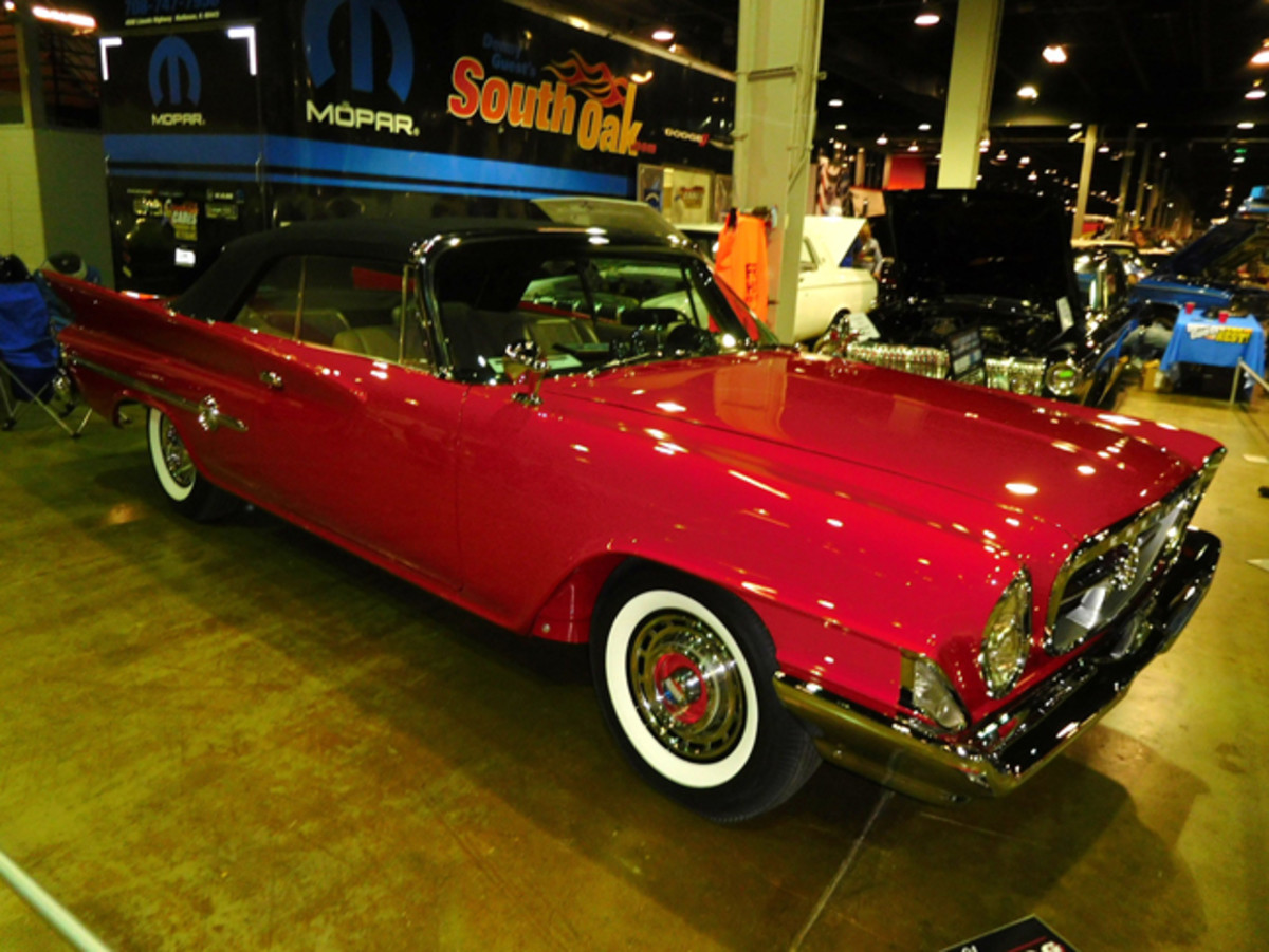 Many experts consider the Chrysler 300 Letter Car to be the first true muscle car and this one was on the MCACM show floor.