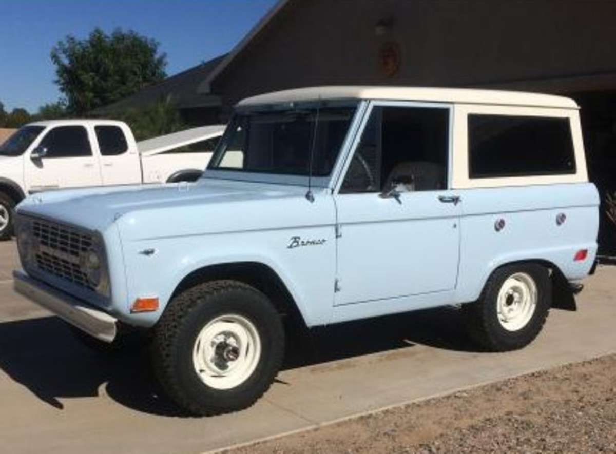 1968 Ford Bronco offered by Silver Auctions.