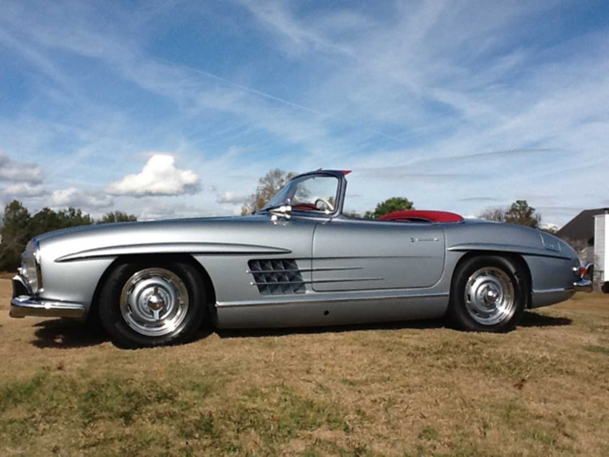 Natalie Wood's Mercedes-Benz 300SL will compete at the 17th Annual Amelia Island Concours d'Elegance in March. (Terri Henning photo)