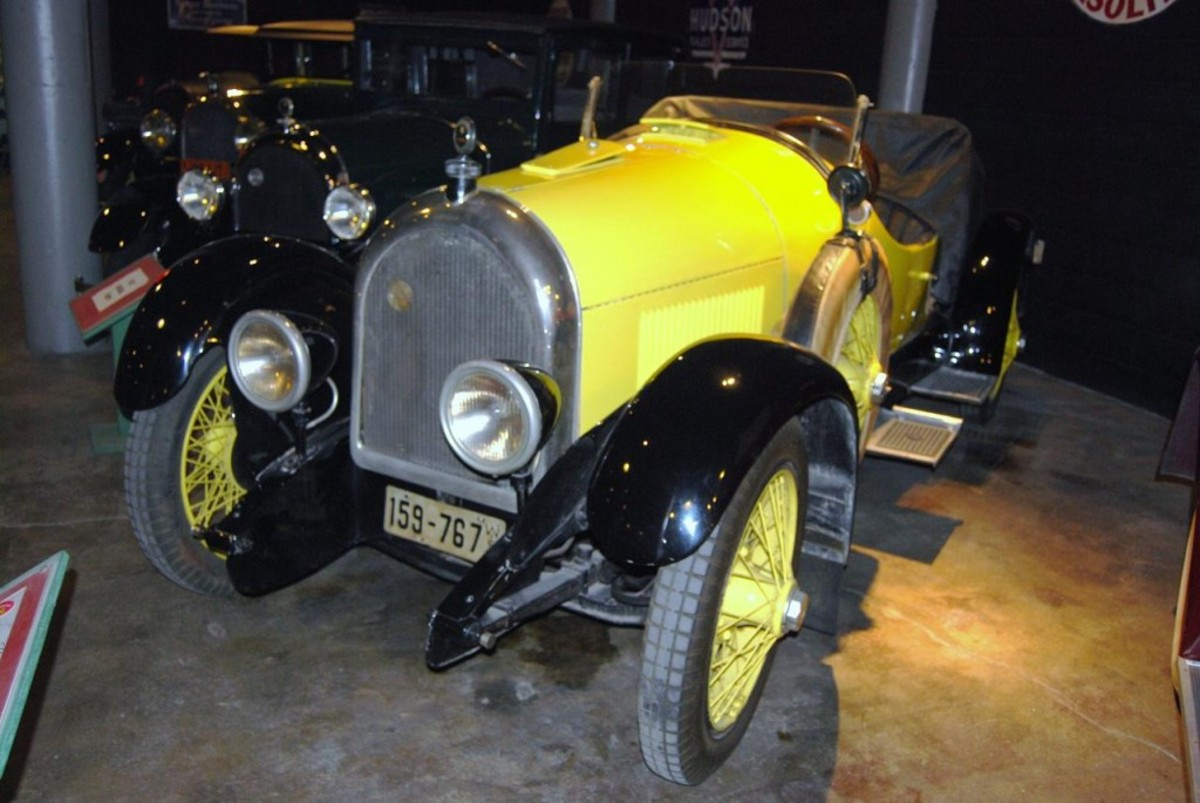 1921 Kissel Gold Bug.