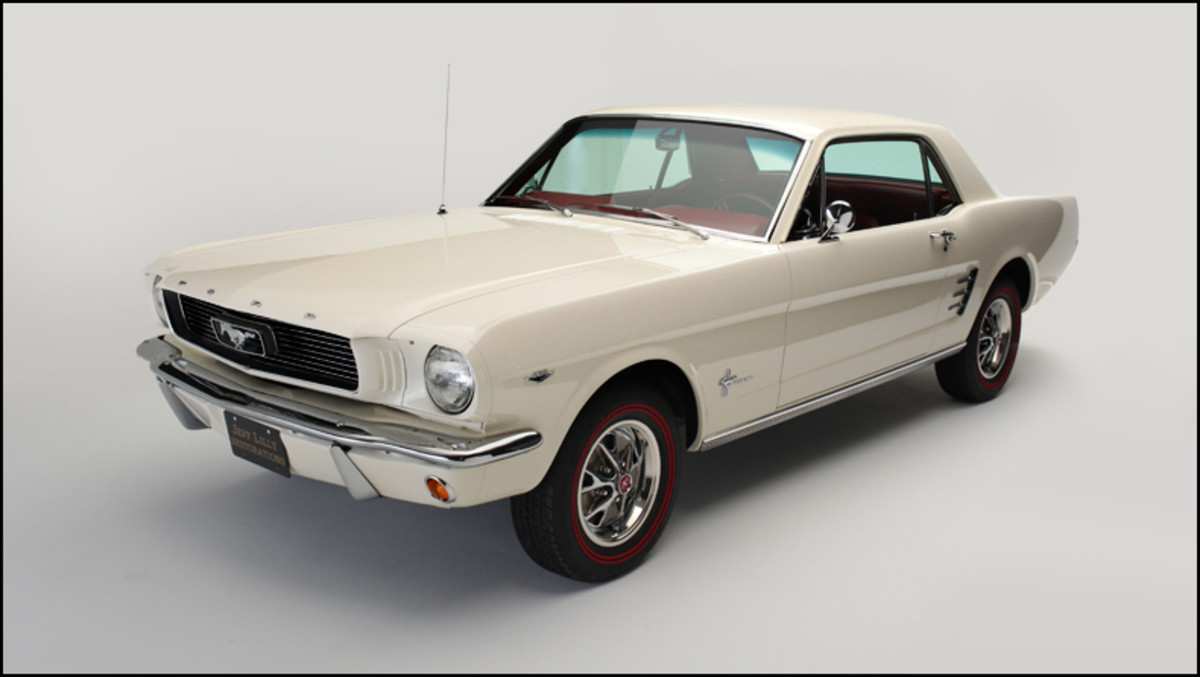 A restored 1966 Ford Mustang is a thing of beauty. Check out this coupe restored by Jeff Lilly Restorations in Texas.