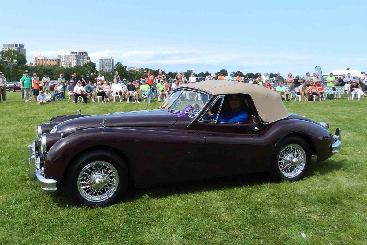 Most Elegant Open-Late 1957 Jaguar XK140