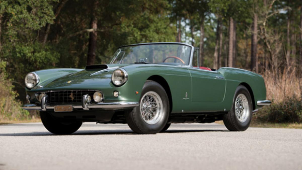 Lot 145, Amelia Island | 1960 Ferrari 400 Superamerica SWB Cabriolet by Pinin Farina