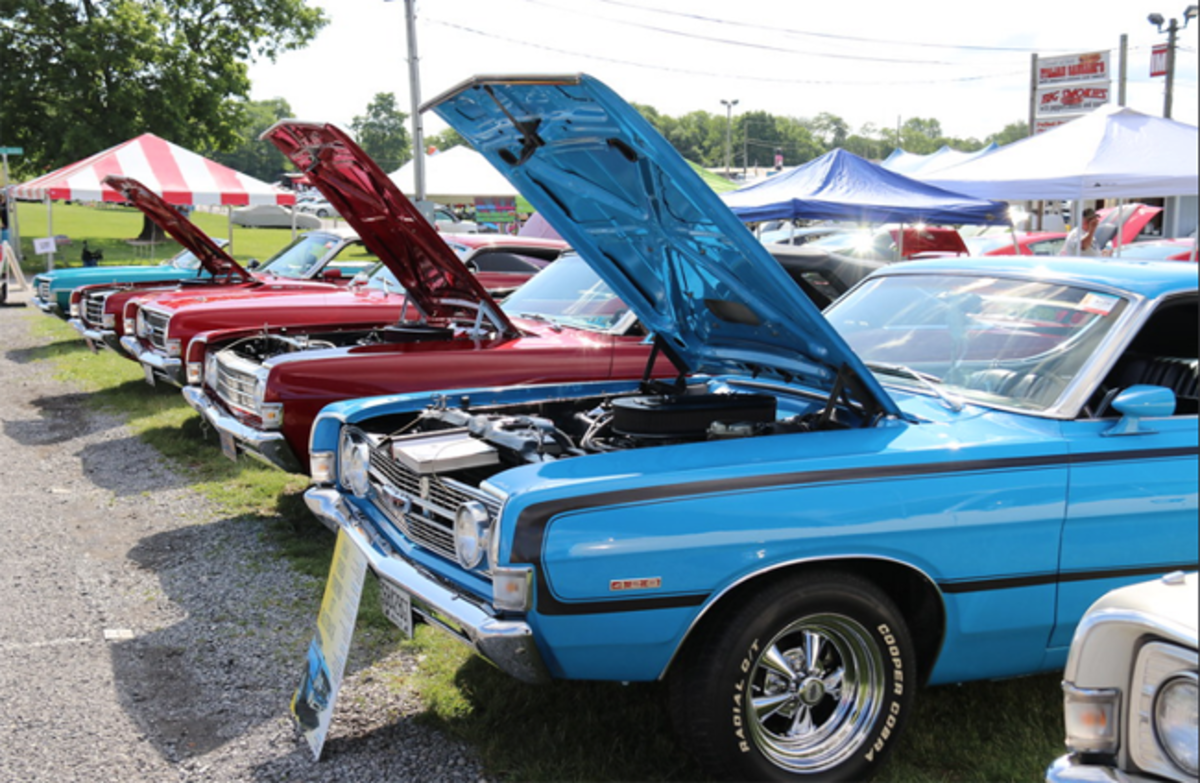 Image from Carlisle Events' Ford Nationals 2019