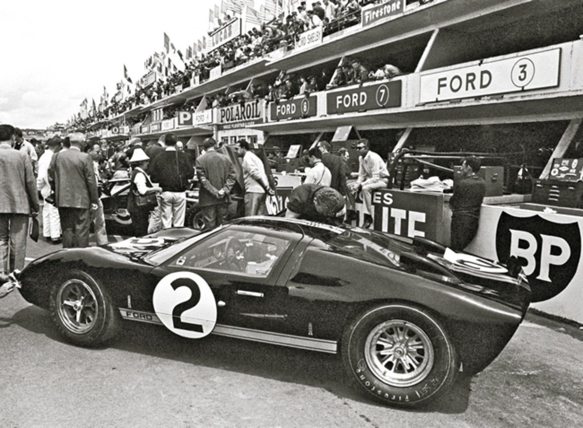 Le Mans First Pl 1966, GT40 Mark II-A, Ford photo