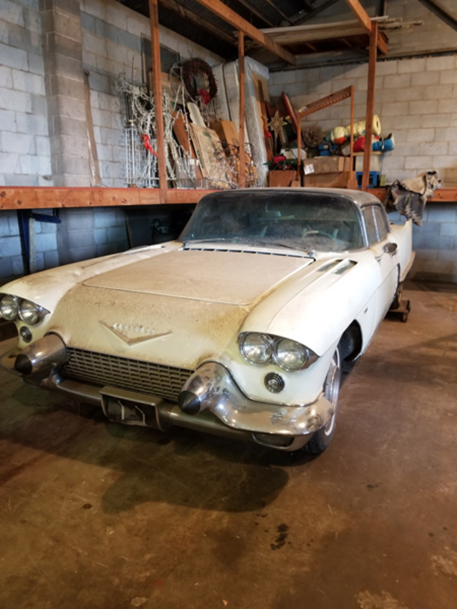 A 1958 Cadillac Eldorado Brougham is one of the many buildable cars to be offered in the Rick Smith Collection auction.