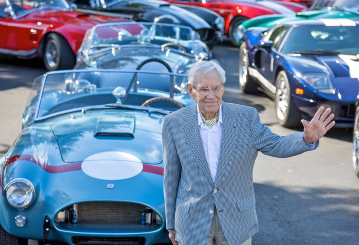Roy Lunn with FIA Cobra... photo - Gary Jean