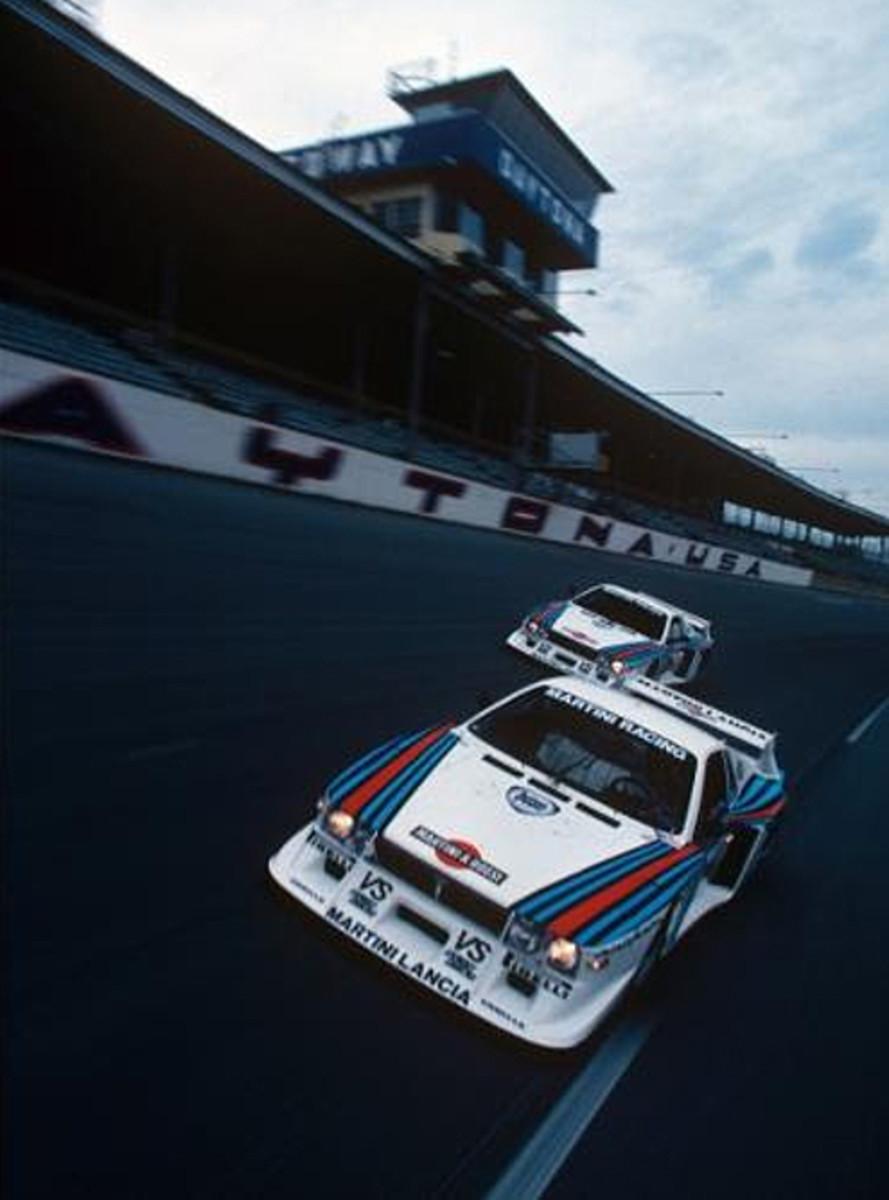 Racing at Daytona