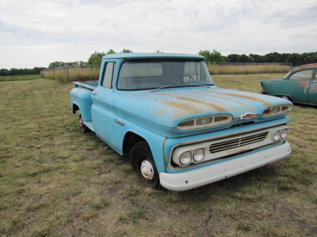 1960 Chevrolet C10 Apache truck.