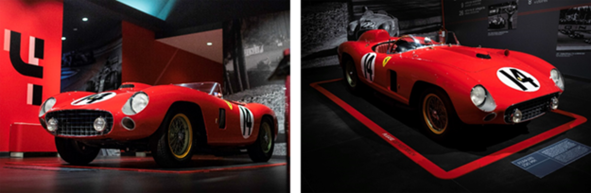 1956 Ferrari 290 MM offered by RM Sotheby's in Lost Angeles,8 December(Diana Varga © 2018 Courtesy of RM Sotheby's).