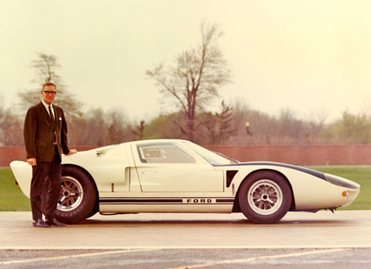 1965, Dearborn,Lunn & Ford GT:106, first of 427 conversions ...photo - Roy Lunn Archives