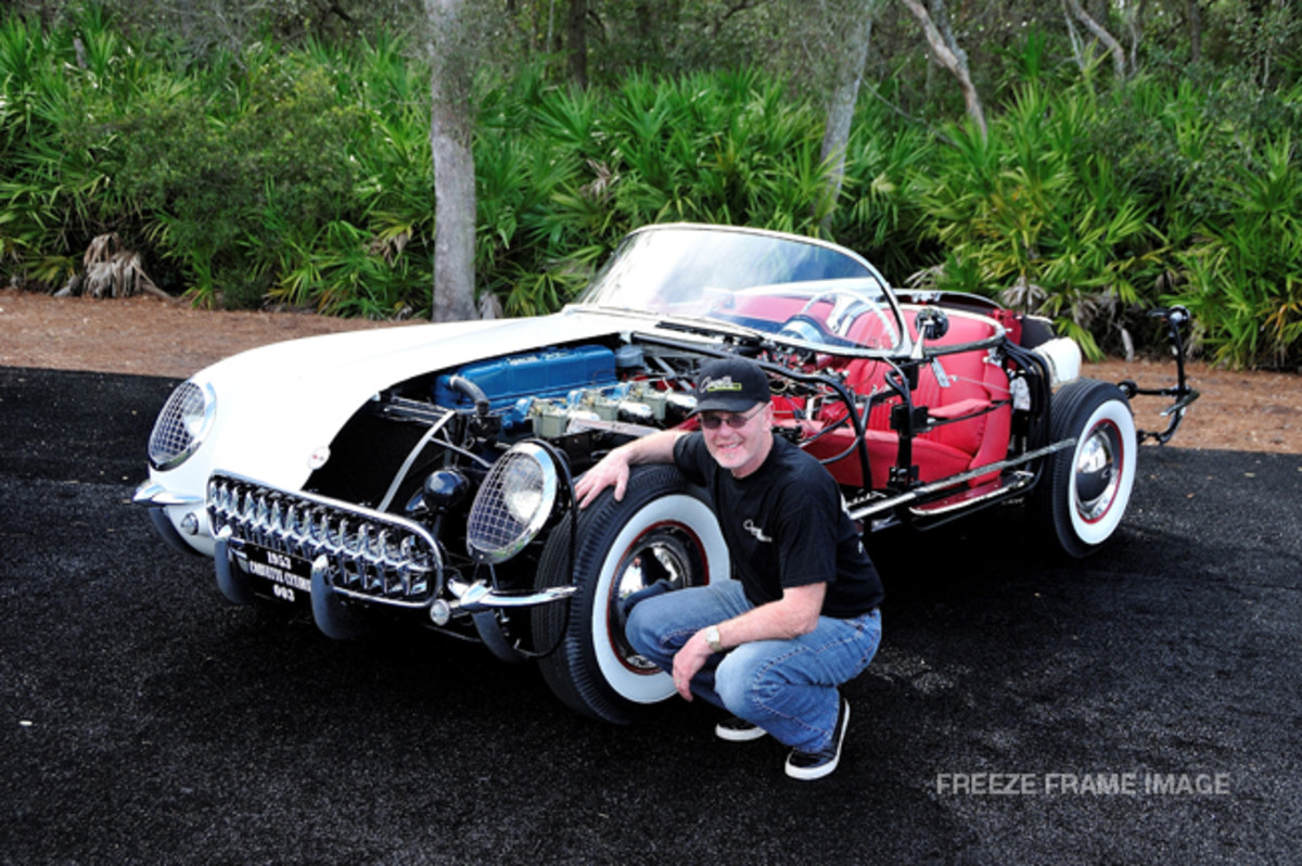 1953 Corvette Cutaway