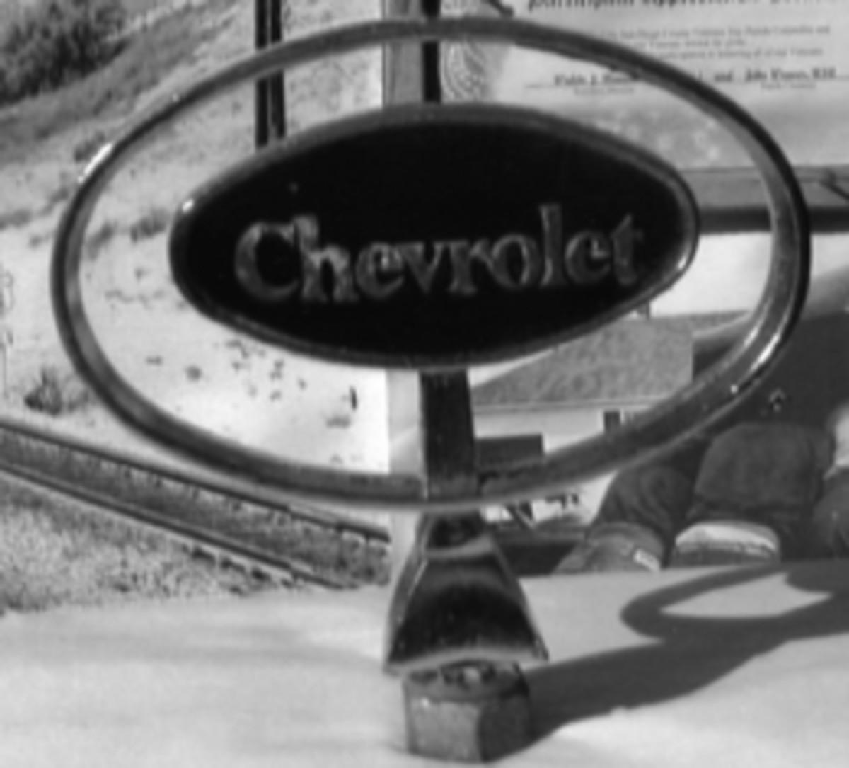 0130-ChevyOrnamentbw