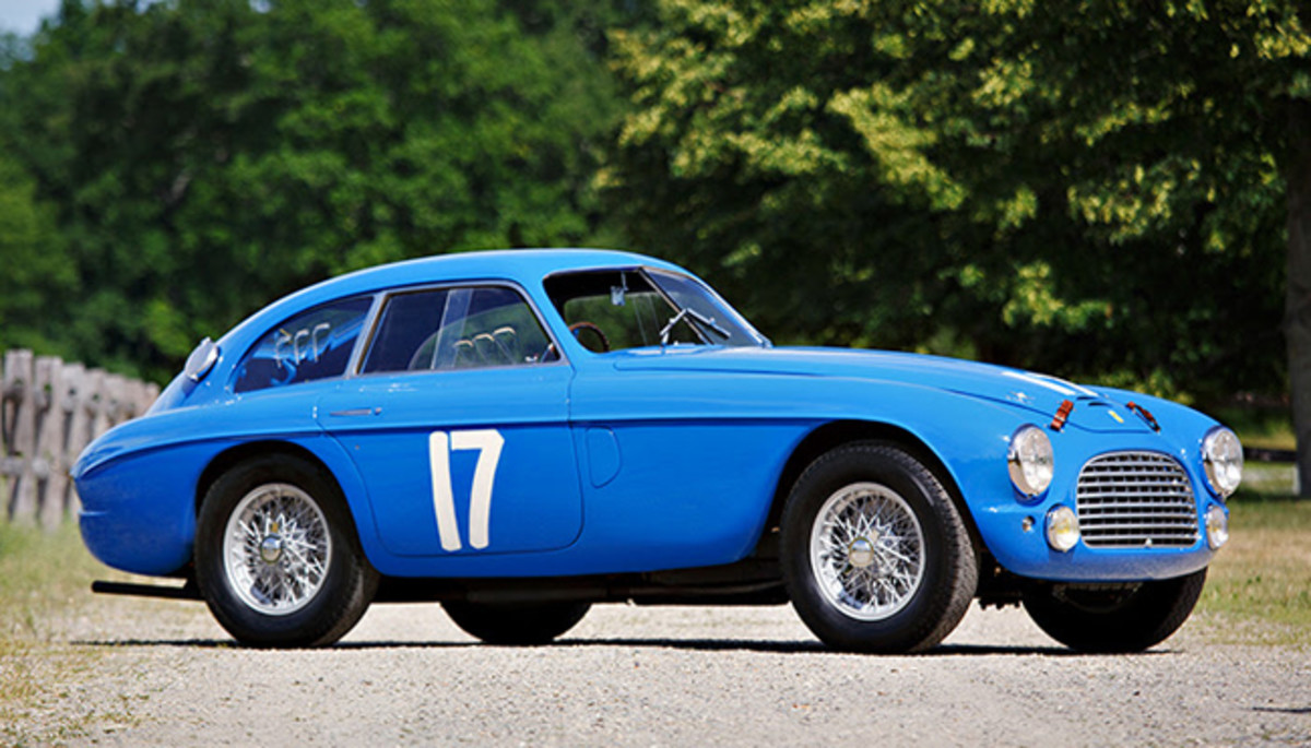 The 1950 Ferrari 166 MM/195 S Berlinetta Le Mans Lusso. Image copyright & courtesy of Gooding & Company. Photo by Brian Henniker.