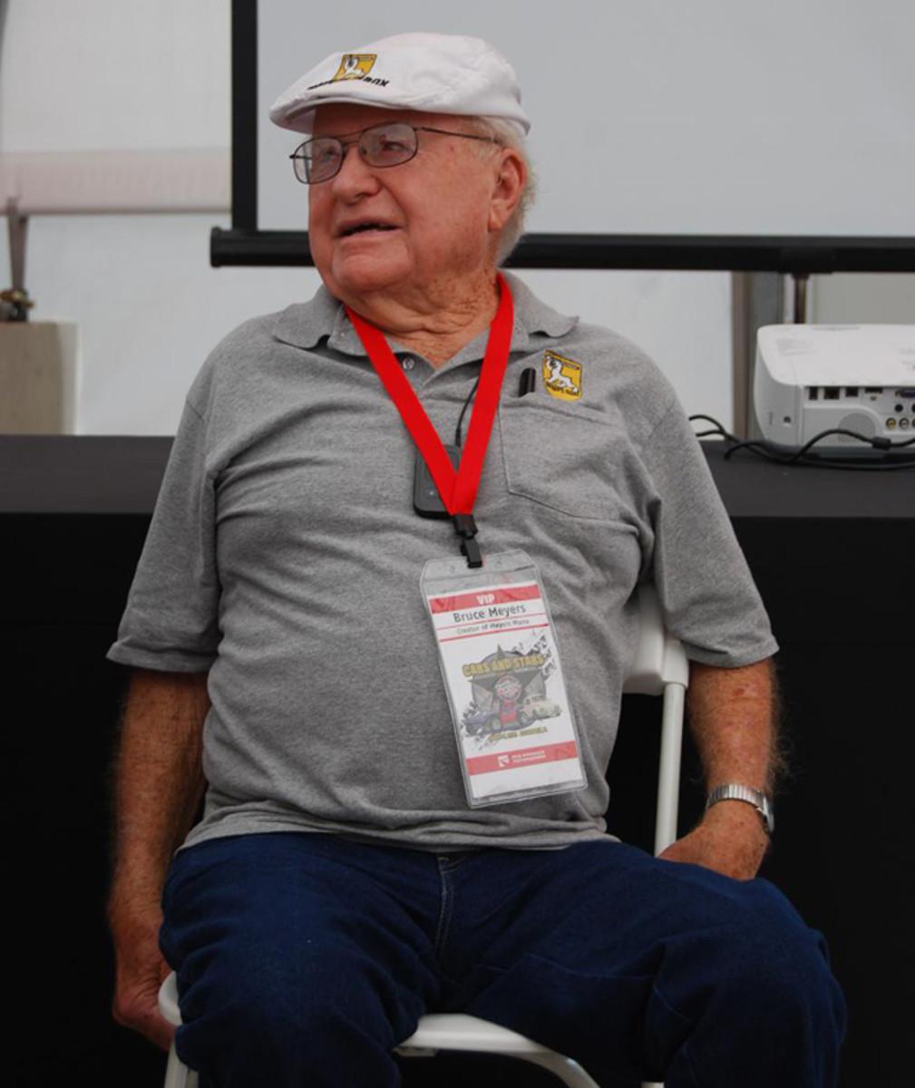 Bruce Meyers created the dune buggy.