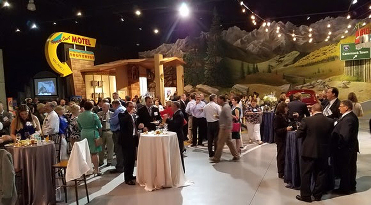Night at the Museum Reception