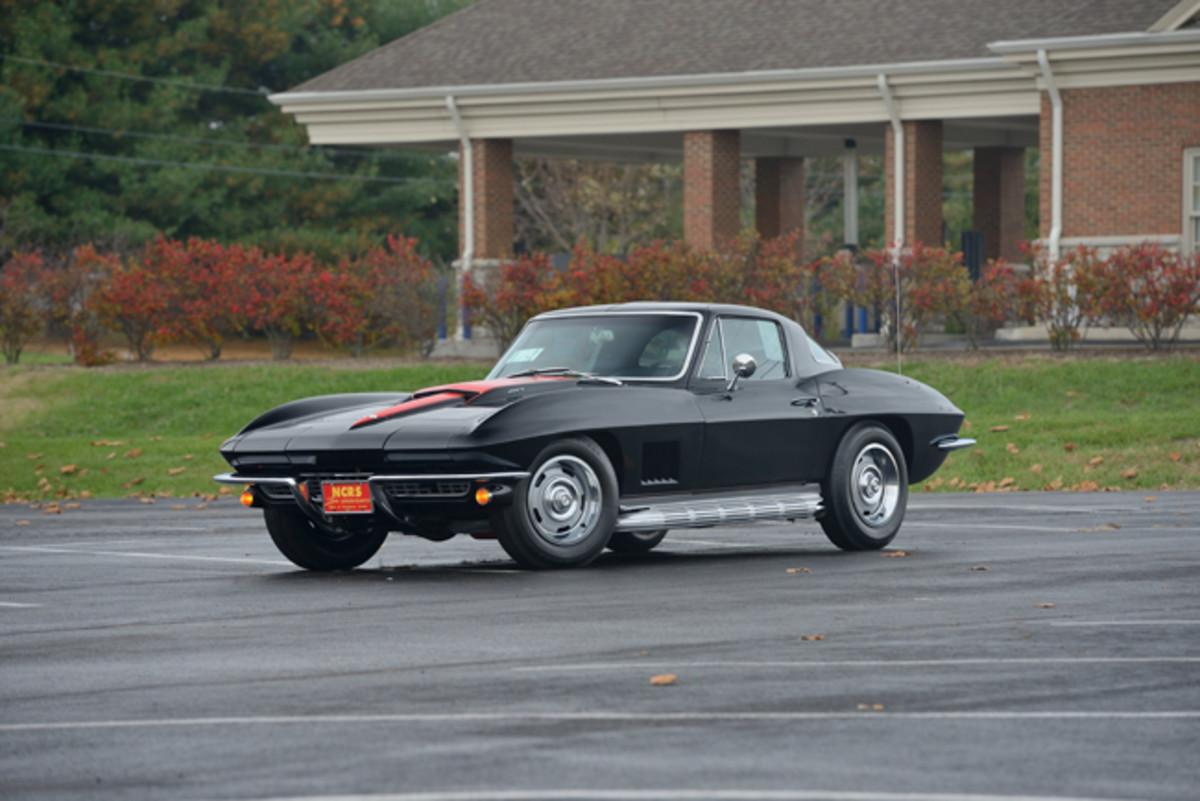 1967 Chevrolet Corvette Coupe - Duntov Mark of Excellence, Tank Sticker