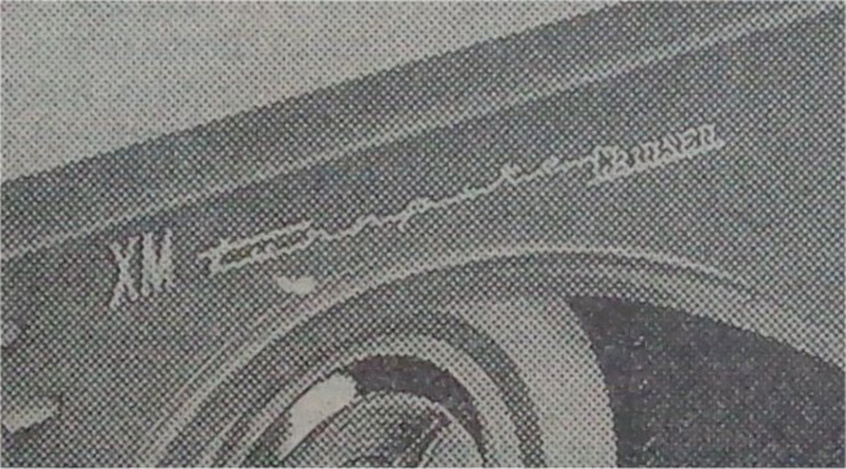 "Originally, there was a large ""XM"" preceding the ""Turnpike Cruiser"" script on the front fenders. The ""XM"" was later removed, leaving only the ""Turnpike Cruiser"" script."
