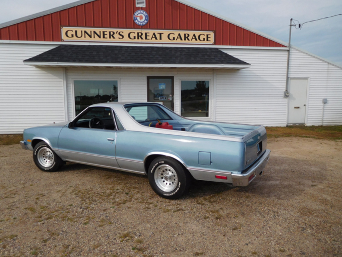 This mildly modified 1987 El Camino came to Gunner's Great Garage for an appraisal. In this case, a number of nice upgrades added to its value.