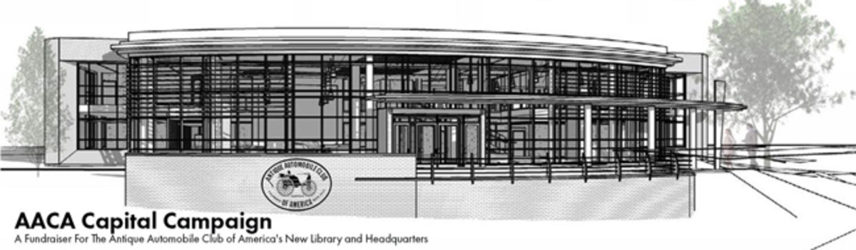The new building rendering