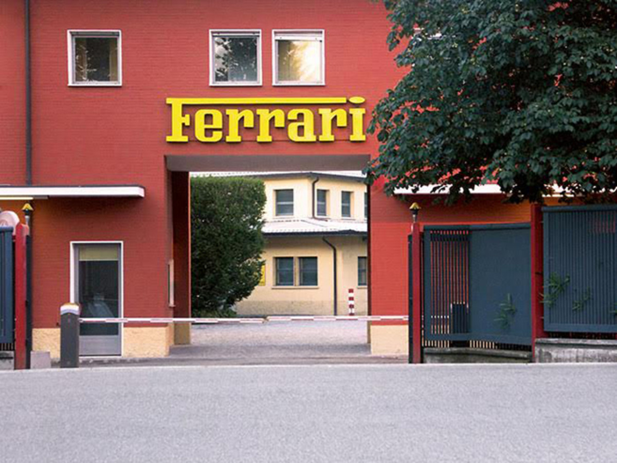 The legendary Ferrari Factory at Maranello, the site of RM Sotheby's upcoming single-marque auction in partnership with Ferrari, set for September 9th