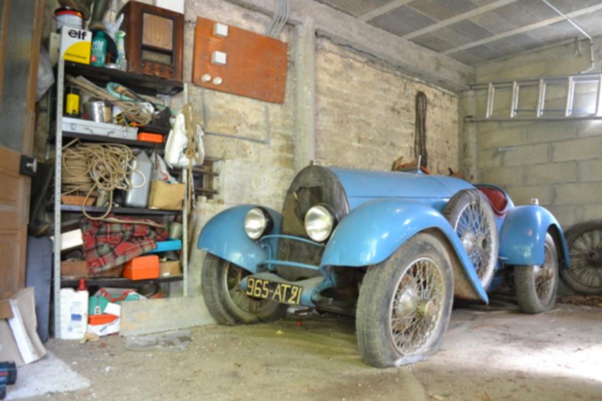 Bugatti Brescia châssis 2628, circa 1925. (estimate : $170,000 - $280,000 USD)