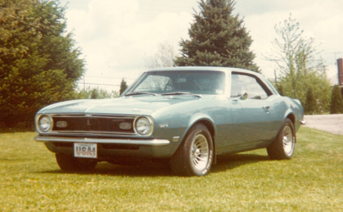 1968 Camaro with 1981 restoration complete, sporting Mag wheels